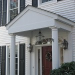 New portico, Putnam Valley