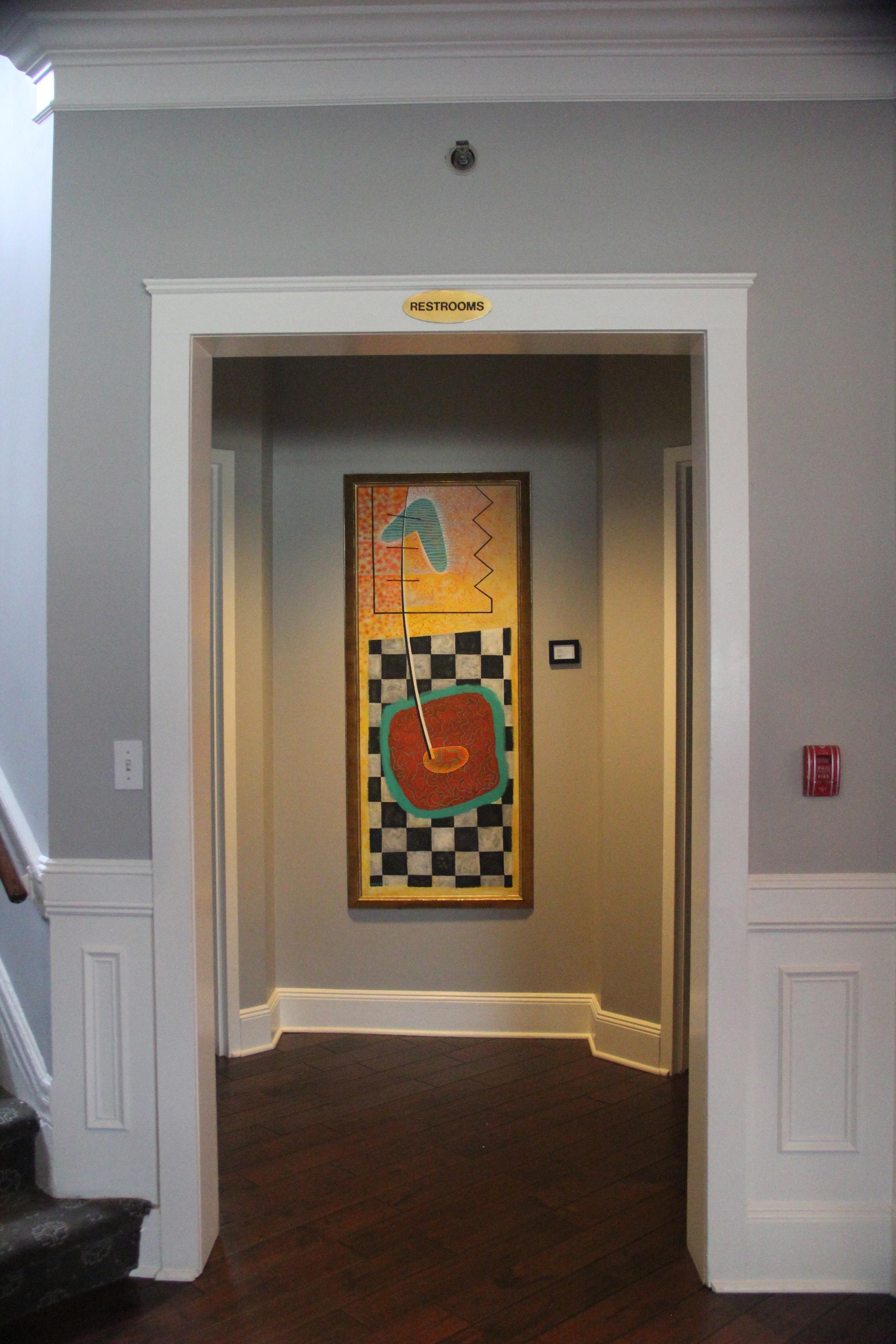 Country club foyer
